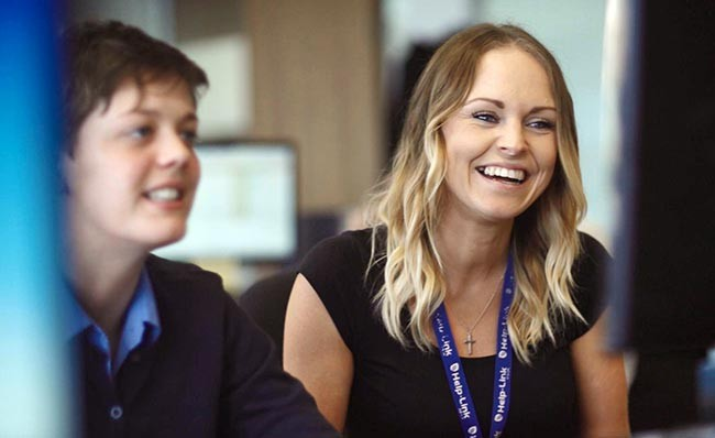 Shot of employees from Veejo's North Tyneside Council promotional video