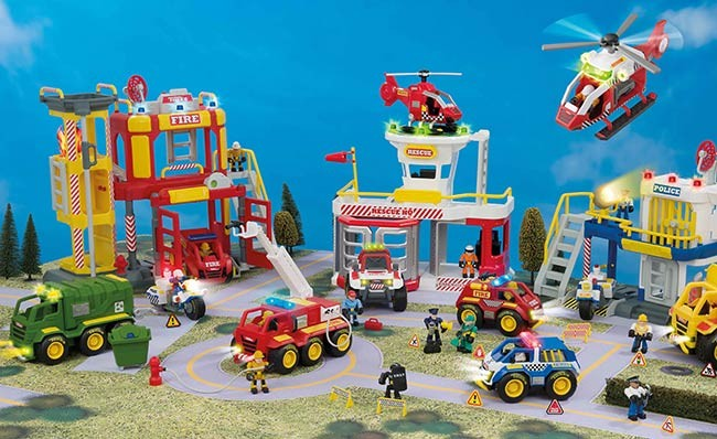 Shot of Tonka Town toys from Veejo's HTI product demo video